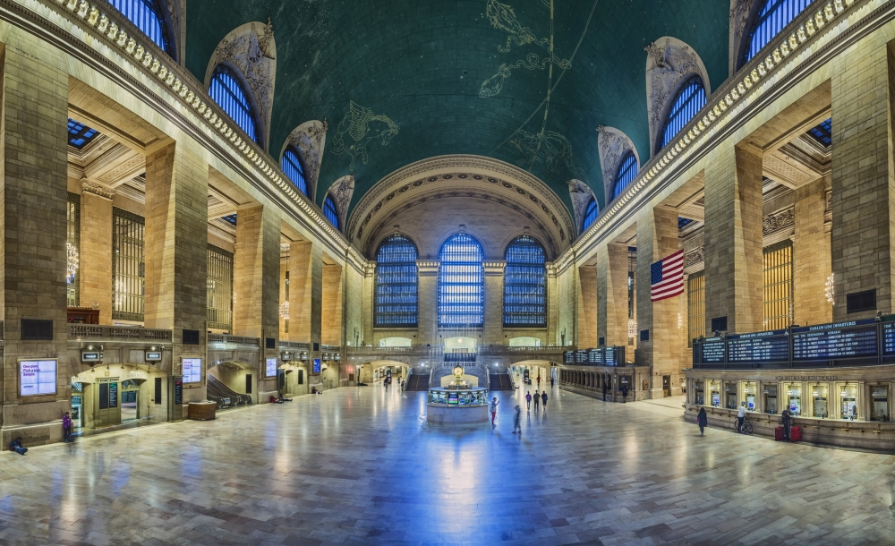 The interior of Grand Central Terminal in New York City.